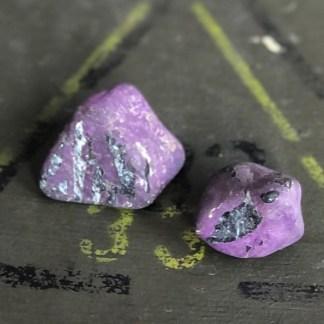 purpuriet trommelstenen nr2 mineralen