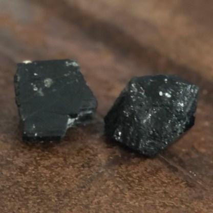 toermalijn zwart ruw brok Brazilië mineralen