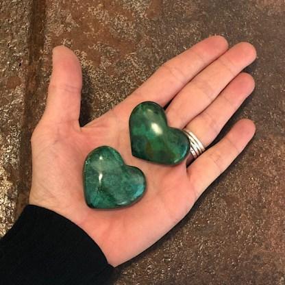 Chrysocolla Hart Gepolijst mineralen azuriet malachiet