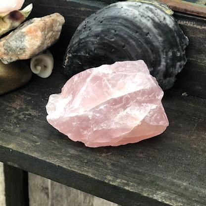 rozekwarts ruw brok nr6 mineralen