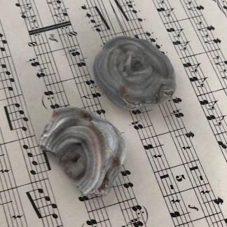 chalcedoon roosjes of rozetten ruw mineralen