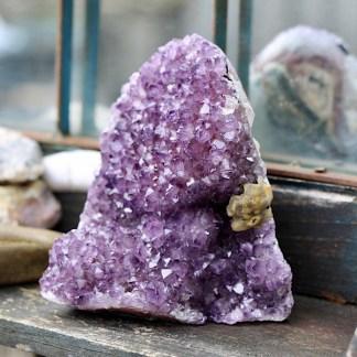 amethist cluster ruw uruguay nr1 mineralen
