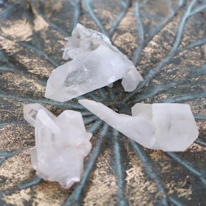 bergKristal clustertje ruw nr1 mineralen