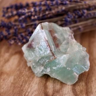 calciet ruw groen brok nr1 mineralen