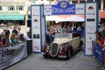 Mörch Reiner und Rosi auf Alfa Romeo 6C 2300 B Lungo BJ 1938