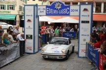 Mack Michael und Monika auf Porsche 911 Carrera 3.2 BJ 1983