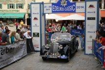 Schneider Thomas und Wiederer Andrea auf Mercedes 170 Sa Cabriolet BJ 1950