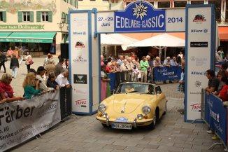 Ströbel Friedrich und Hildegard auf Porsche 356 B Roadster BJ 1960