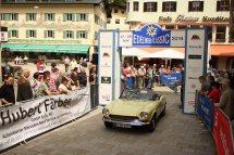 Rupp Joachim und Lore auf Fiat 124 Sport Spider BJ 1971