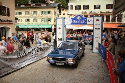 Racher Michael und Andrea auf Ford Granada Ghia MK1 BJ1975