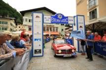 Stockinger Peter G. und Wendtner Gottfried auf Alfa Romeo Giulia Sprint GT Veloce BJ 1967