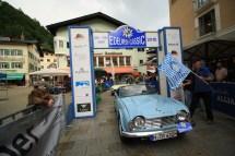 Rupp Katharina und Rupp Lore auf Triumph TR 4 BJ 1962