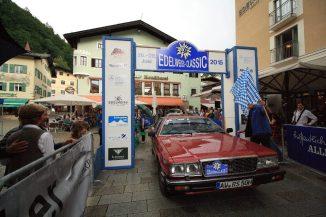 Schiemenz Rolf und Schiemenz Roman auf Maserati Qattroporte III BJ 1980