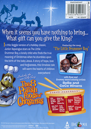VeggieTales The Little Drummer Boy DVD Retells The Well