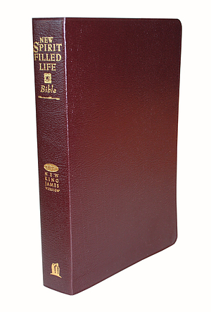 NKJV New Spirit Filled Life Bible Burgundy Bonded