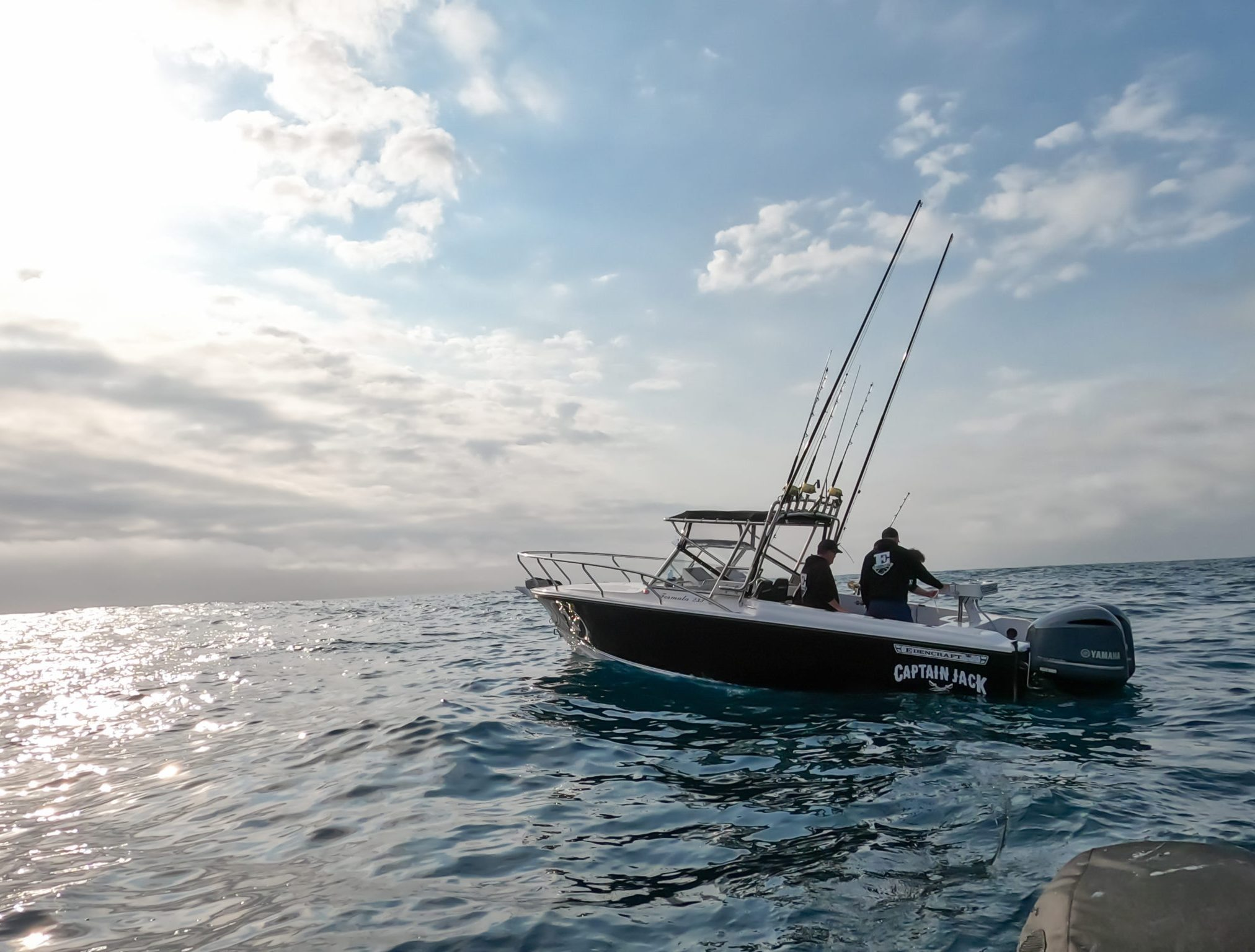 Edencraft 233 Formula offshore in Coles Bay, Tasmania