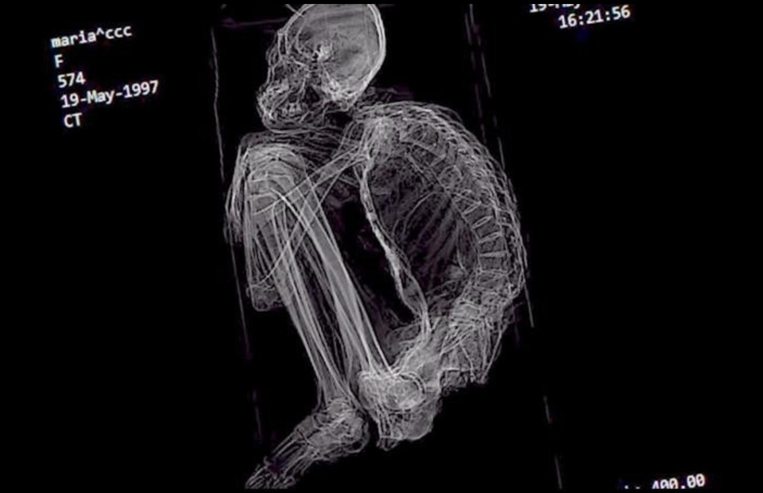 Resultado de imagen de maria momia de nazca
