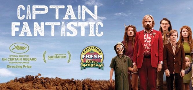 Captain Fantastic : 14.50 / 17.20 / 19.40 / 22.00