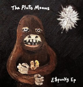 The Pluto Moons - E$pooky EP Cover