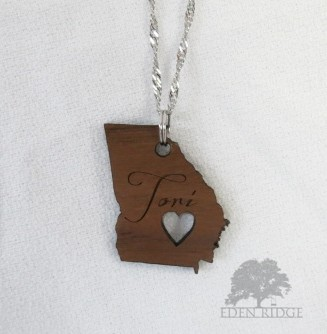 Georgia Keepsake Necklace