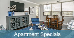 Inside our Townson Independent Living Apartments