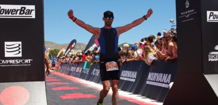 Ironman 70.3 Mallorca: Rene Steffen u. Nico Schlordt finishen auf der spanischen Insel
