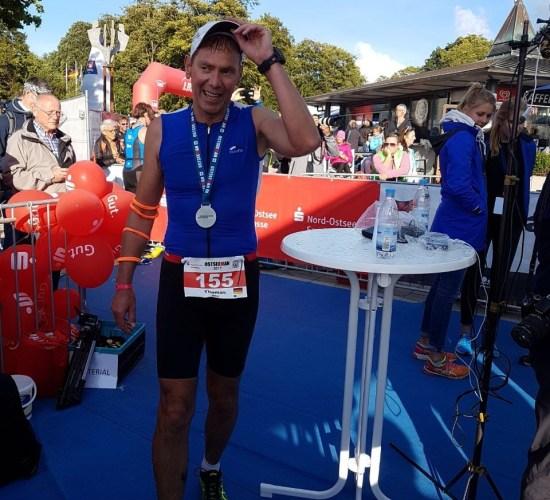 Thomas Groß finished Langdistanz OsteeMan 3,8km-180km-42,195km