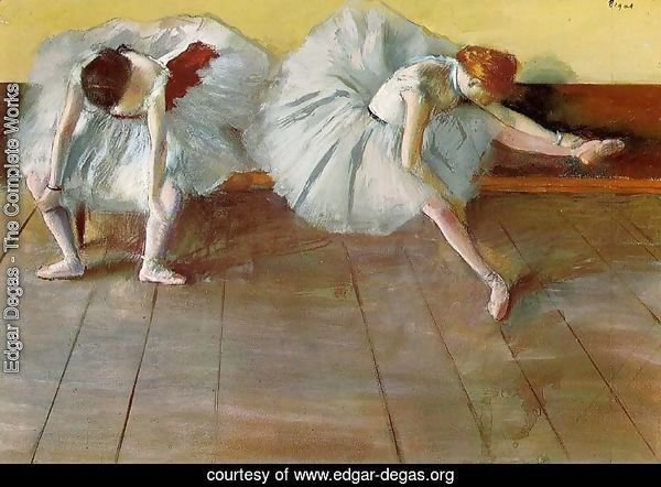 Edgar Degas The Complete Works Two Ballet Dancers I