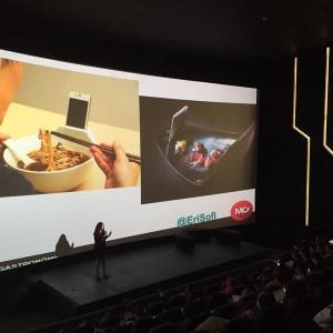 Tycsocial 2015: Erika Silva muestra los platos para foodies.