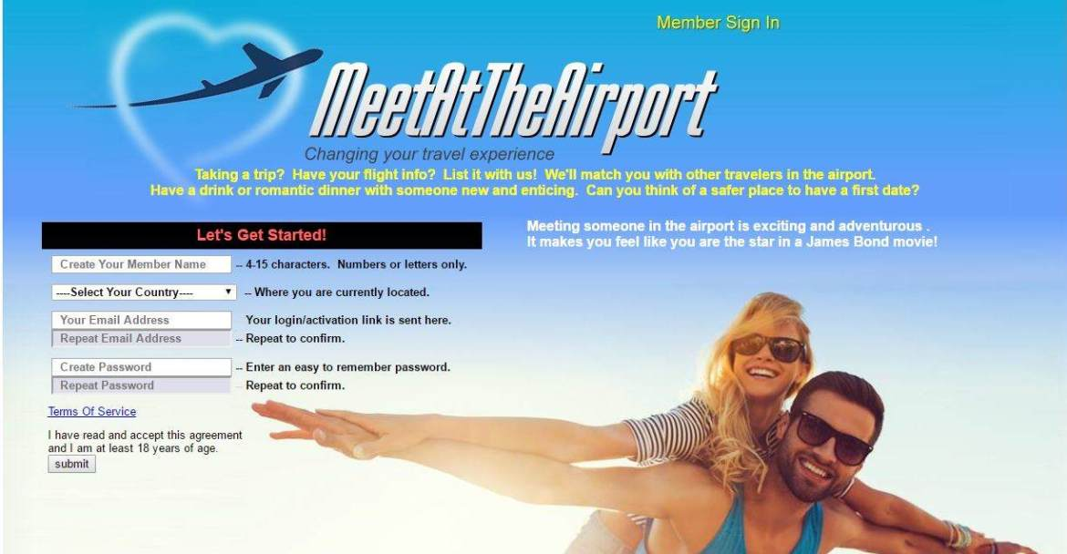 meet at the airport