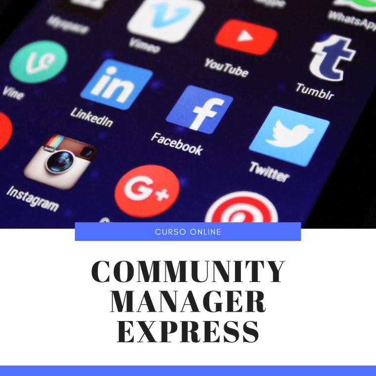 Curso Community Manager Express