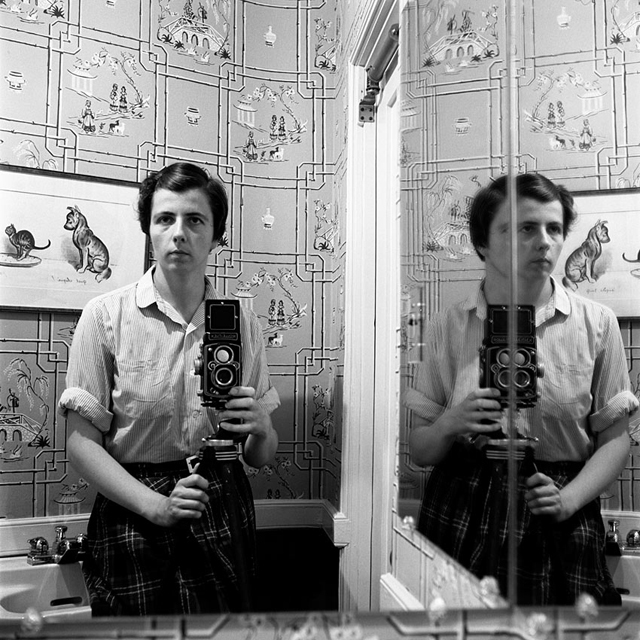 Vivian Maier_Autorretrato © 2013 Maloof Collection, Ltd.
