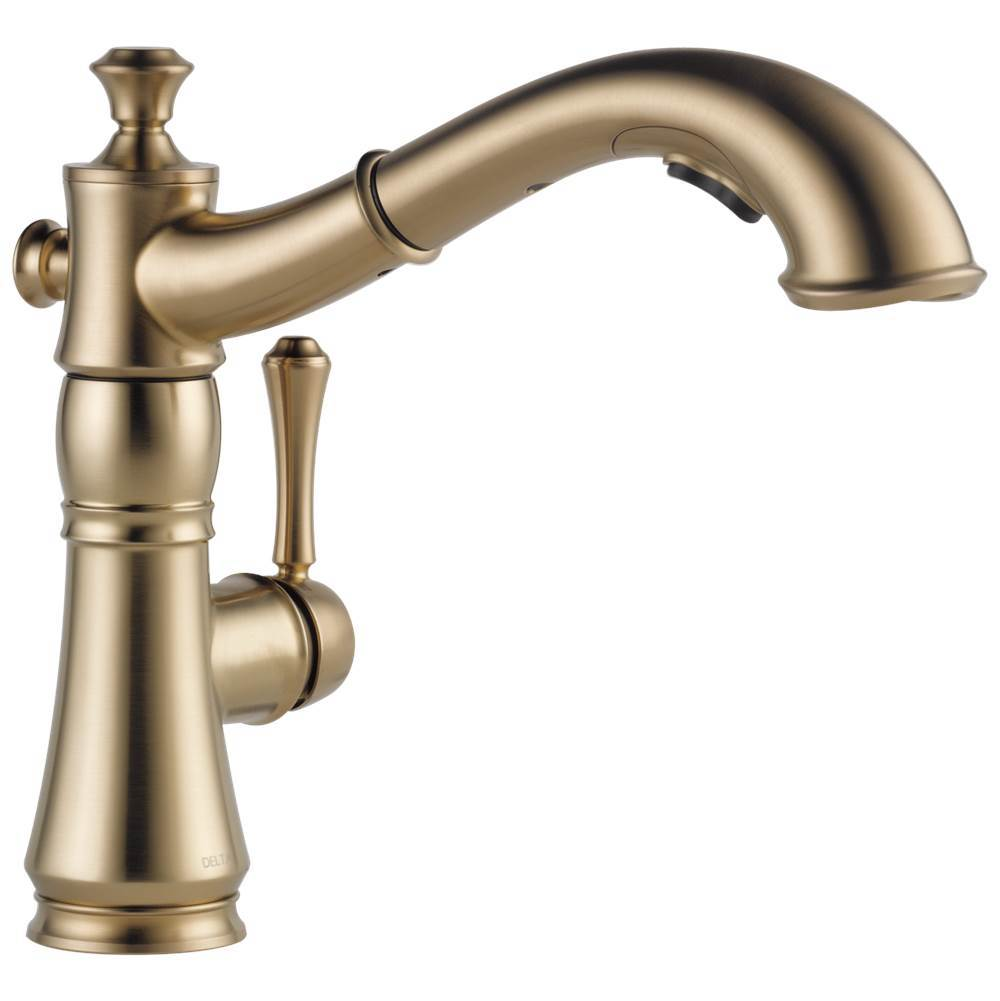 cassidy single handle pull out kitchen faucet