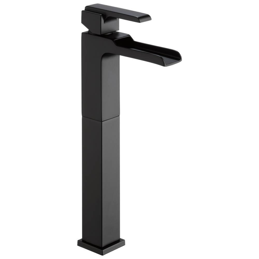 ara single handle vessel channel bathroom faucet