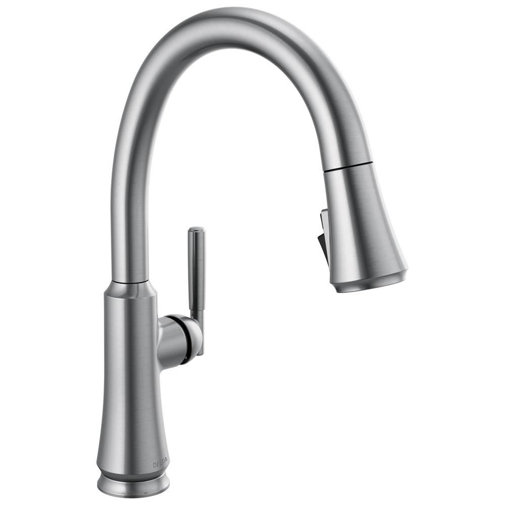 coranto single handle pull down kitchen faucet