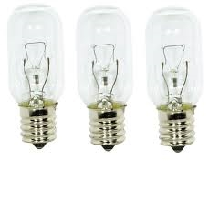 edgewater parts wb02x4253 light bulbs 3 pk for general electric microwave oven