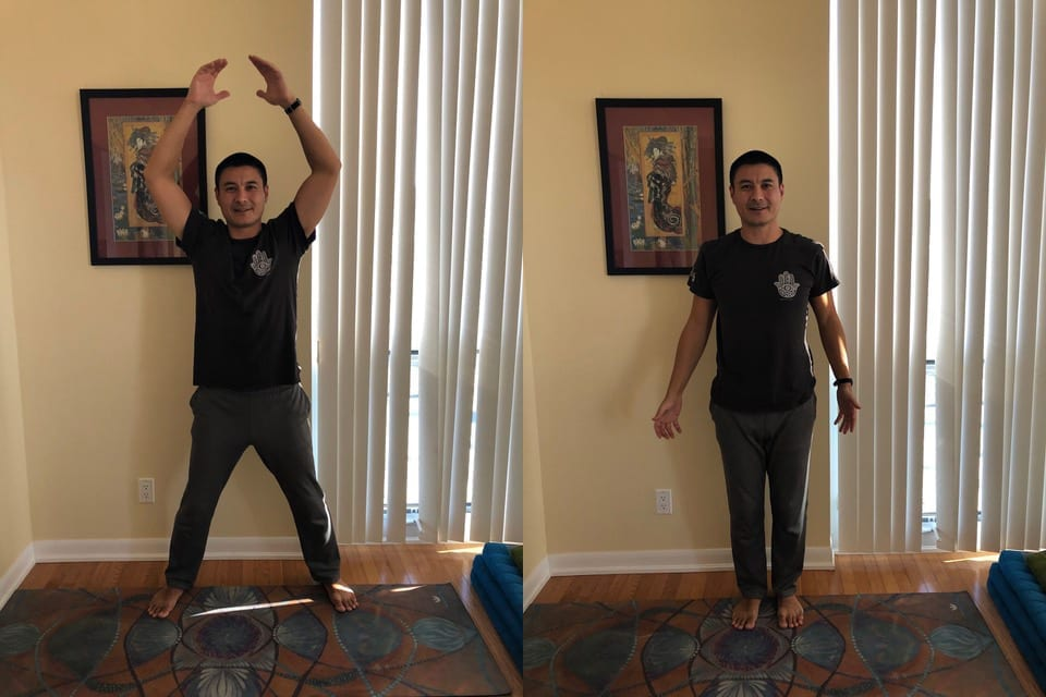 home workout exercises jumping jacks