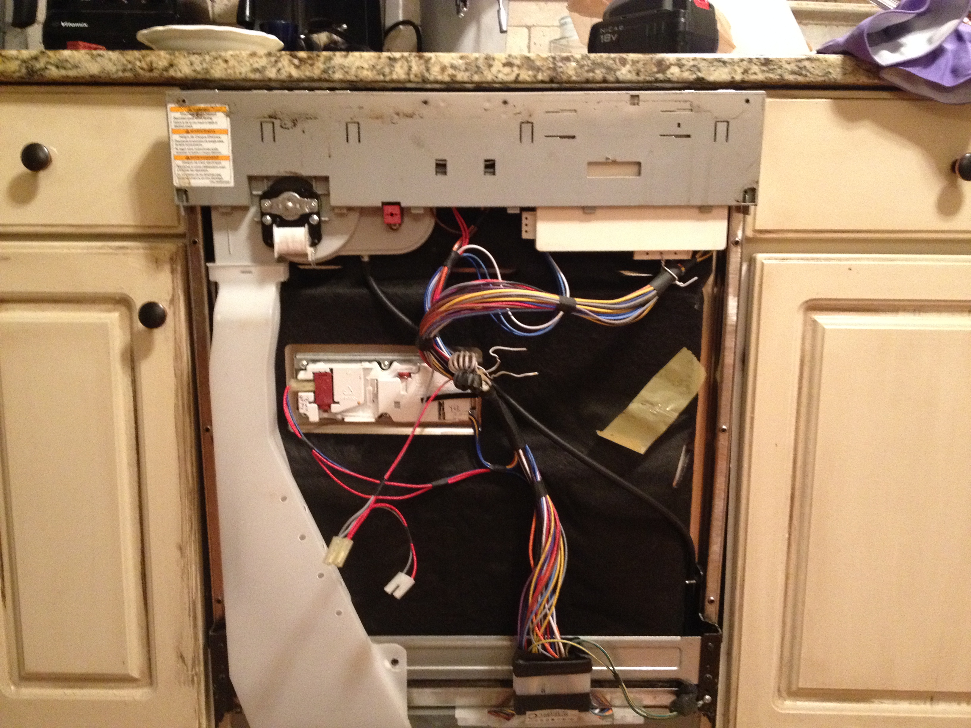 [SCHEMATICS_4US]  Help! My LG Dishwasher LDF6920ST Is Leaking Water | A Lesson Learned | Lg Ldf6920ww Wiring Diagram |  | A Lesson Learned