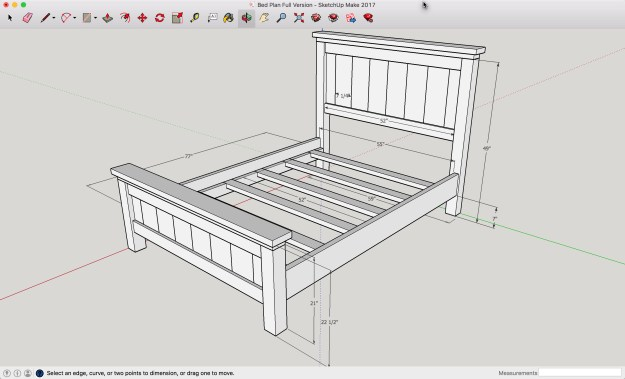Farmhouse Bed Full Size Diy Plans A Lesson Learned