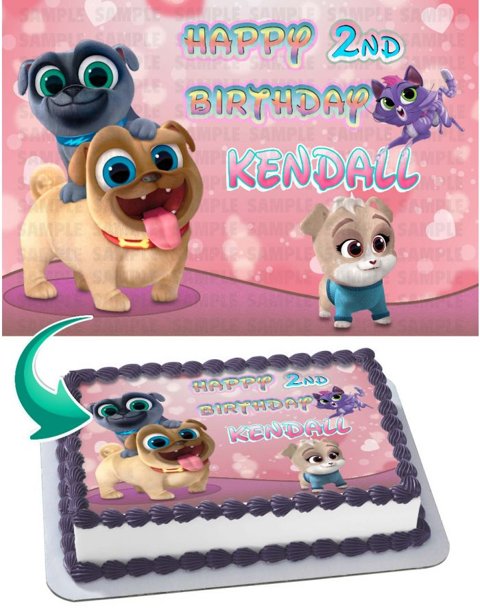 Puppy Dog Pals For Girls Edible Cake Topper