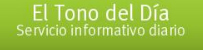 El Tono del Día, servicio informativo diario de hoy lunes 10 de octubre