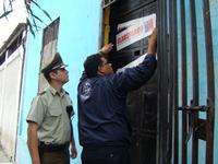 Clausuran residencial por incumplimientos sanitarios en sector centro de Iquique