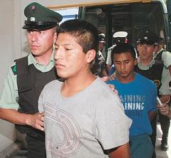 detenidos bolivianos