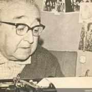 Recuerdan aniversario de la muerte del poeta del Norte Grande,  Andrés Sabella, ocurrido en Iquique