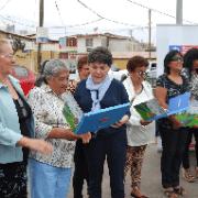 Vecinos de Gómez Carreño reciben subsidios para mejorar sus viviendas