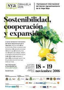 I Symposium Internacional del Sector Agroalimentario de la Vega Baja