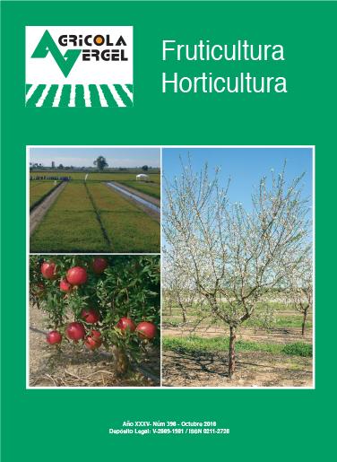 revista agrícola sobre horticultura, fruticultura, arroz y vid