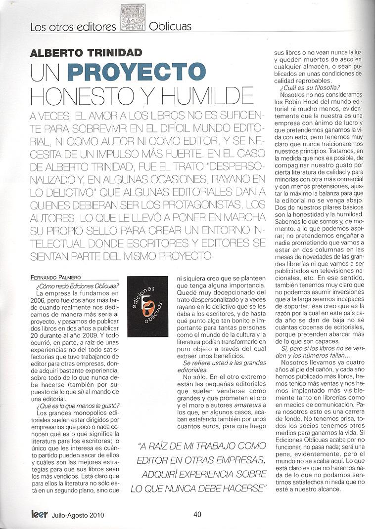 Revista Leer
