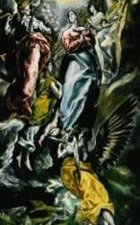"""""""La Inmaculada de Oballe"""" de El Greco"""