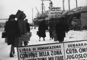 L'esodo degli italiani dall'Istria e della Dalmazia al termine della II Guerra Mondiale